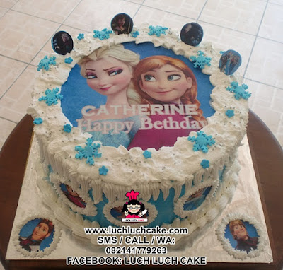 Frozen Edible Cake Daerah Surabaya - Sidoarjo
