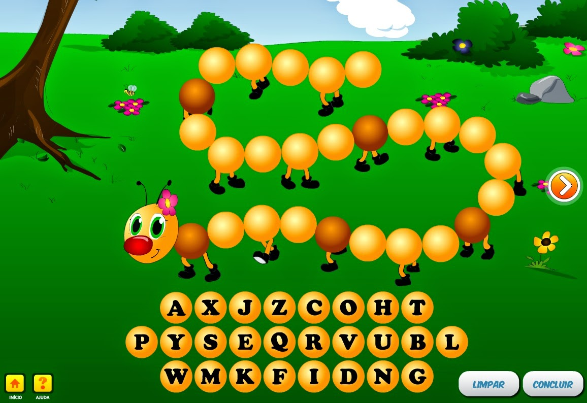 Complete o alfabeto!