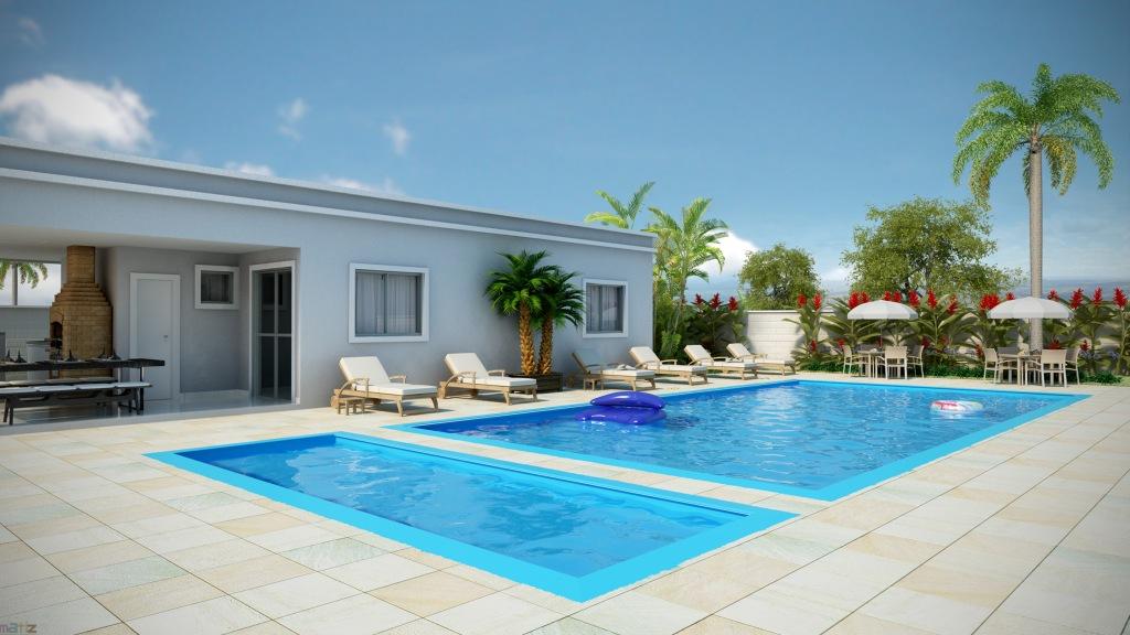 R l arquitetura e interiores condom nio parque dunas do for K sol piscinas