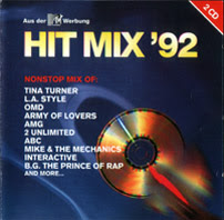 HIT MIX \'92 (2CD Set) 32 original artists non-stop mix (Album) 1992 Hi-NRG Italo House Disco Eurobeat Eurodance \