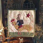 Bunny Hop Table Stand quilt