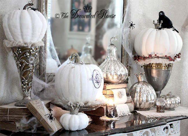 Halloween Decorating from Donna ~ The Decorated House