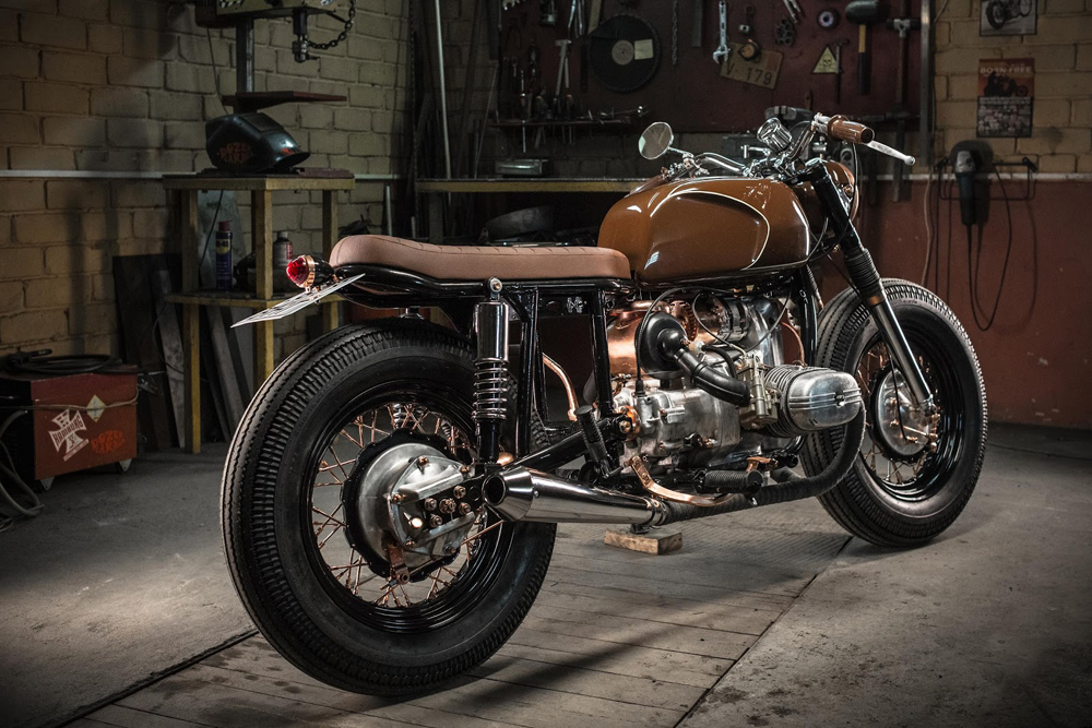 Dozer garage ural 650 fashion return of the cafe racers for Garage custom moto