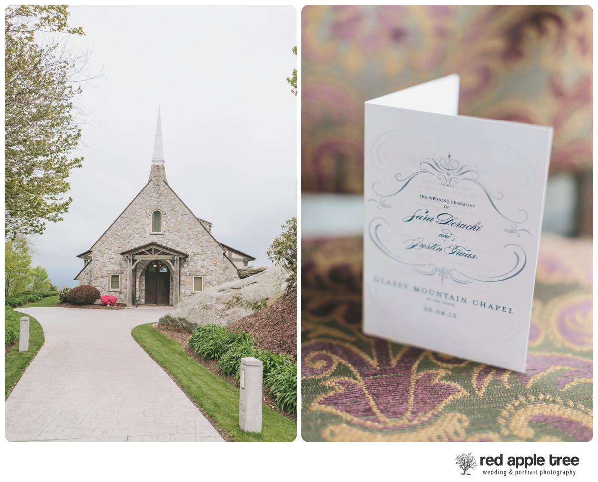 Sara + Justin\'s Wedding | Glassy Chapel & Westin Poinsett ...