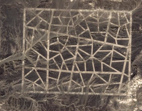 Chinese mosaic lines
