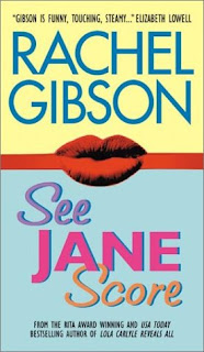 Book cover of See Jane Score by Rachel Gibson (contemporary sports romance)
