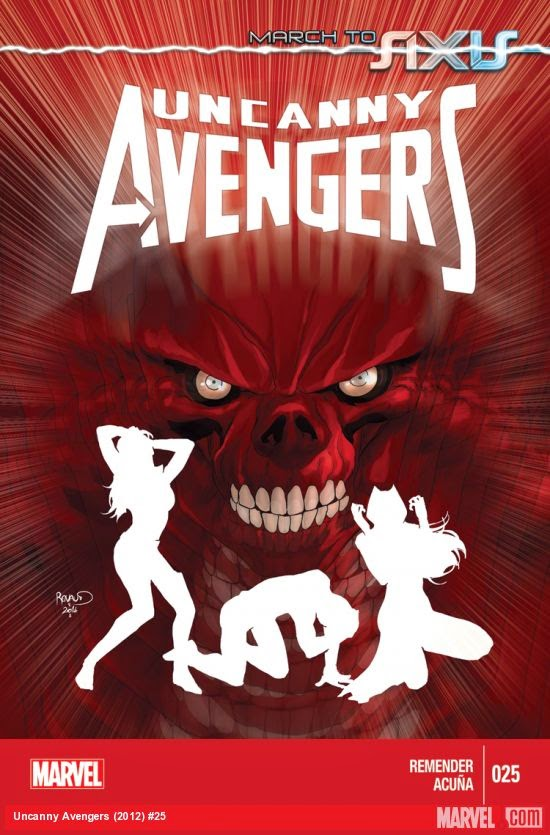 Review of Marvel's Uncanny Avengers #25 by Rick Remender and Daniel Acuna