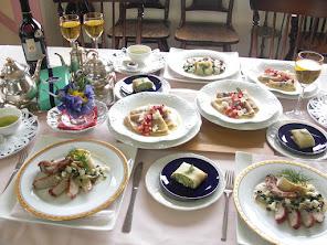 料理教室の風景フレンチ&イタリアンレッスン