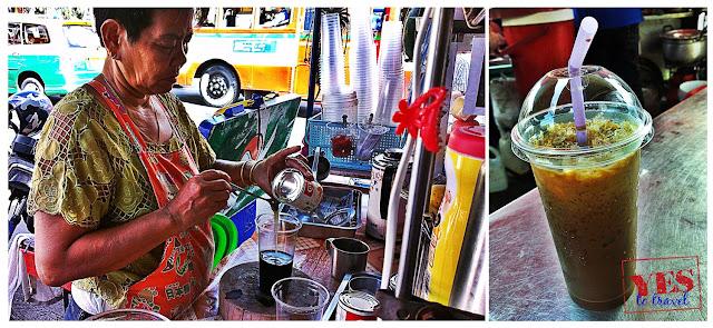 Thai Iced Coffee at Khaosan Road Bangkok