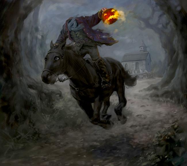 The Misadventures Of The HalloweeNut: The Hessian Rider
