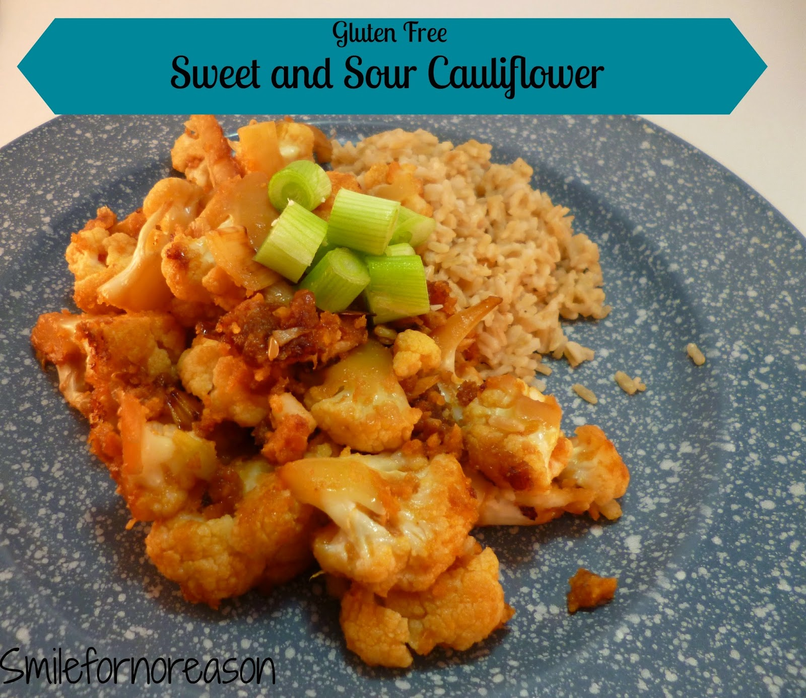 gluten free sweet and sour cauliflower