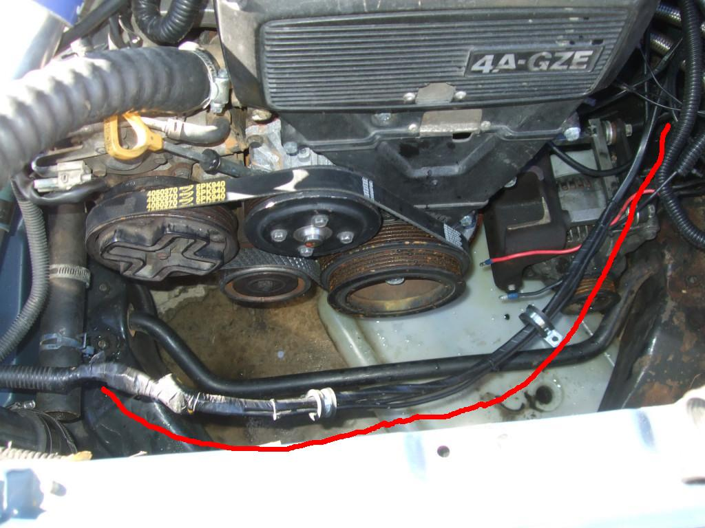 orange spot ae86 tech 86 24 rewire alternator since i had the clone trooper at my disposal one of the things it needed was a rewire of the alternator above we have the wires extended so it can reach