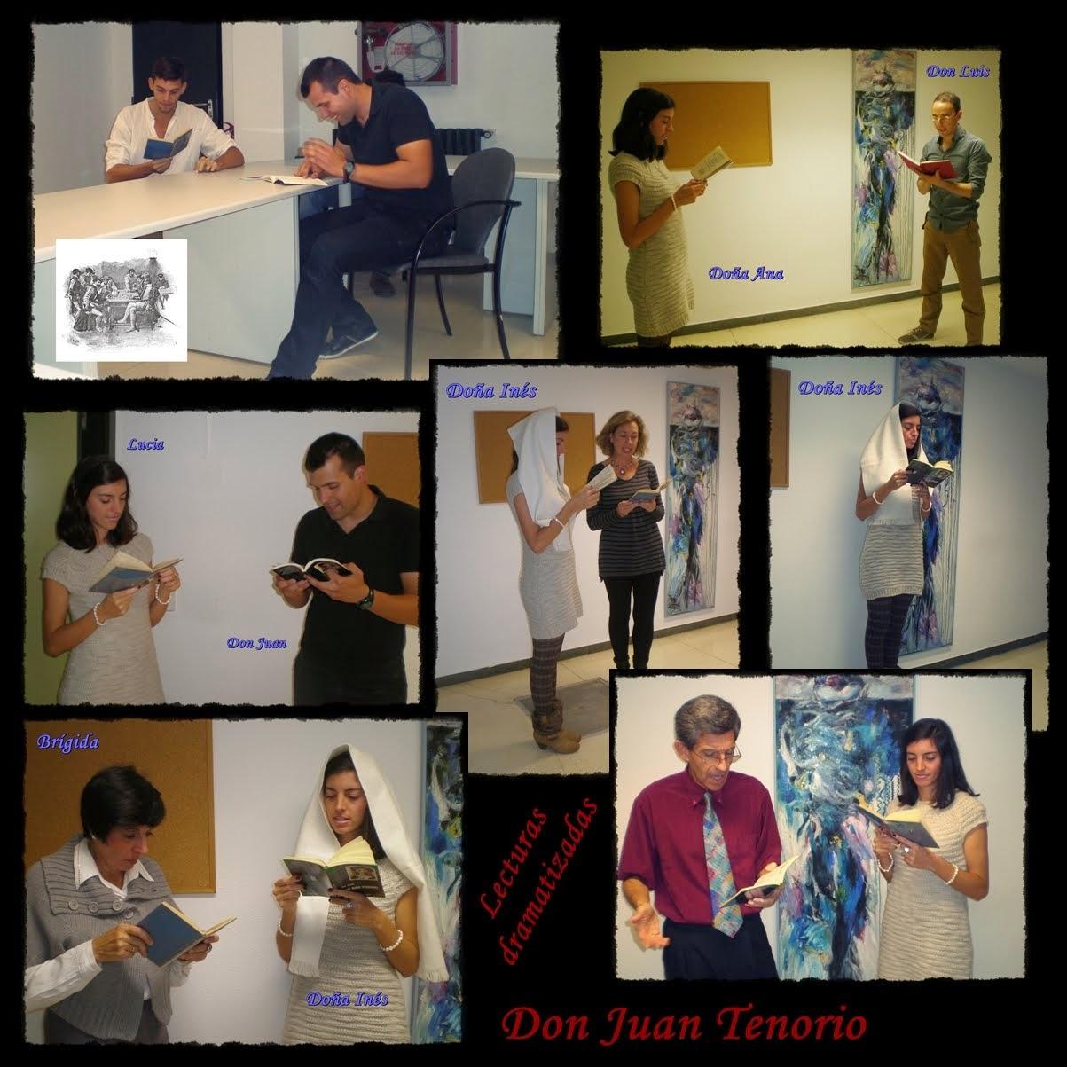 Lecturas dramatizadas... Don Juan Tenorio