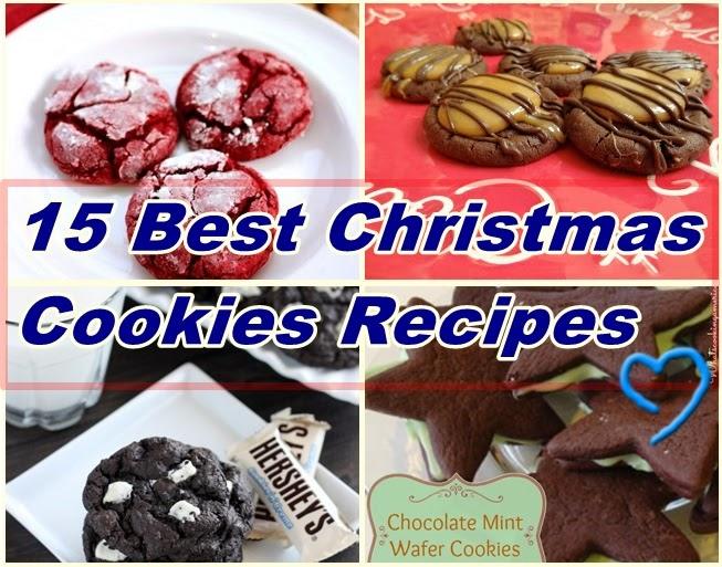 DIY IDEAS: 15 Best Christmas Cookies Recipes