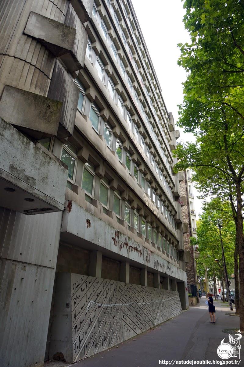 Paris bureaux affaires sanitaires sociales c parent for Parent architecte