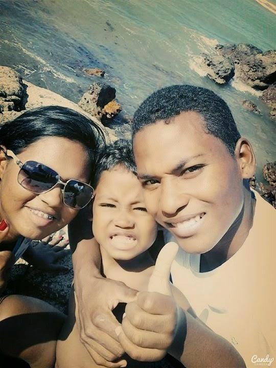 Minha família.