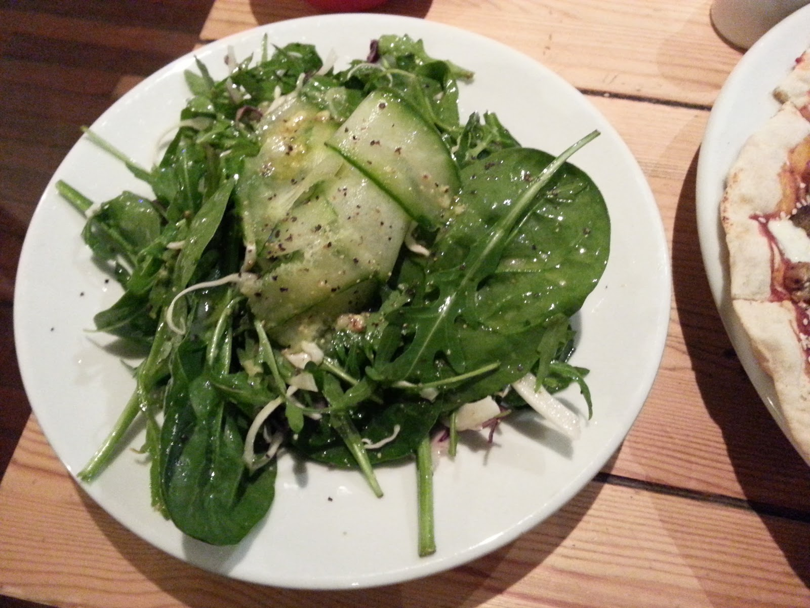 Green Salad with cucumber Mono, Glasgow