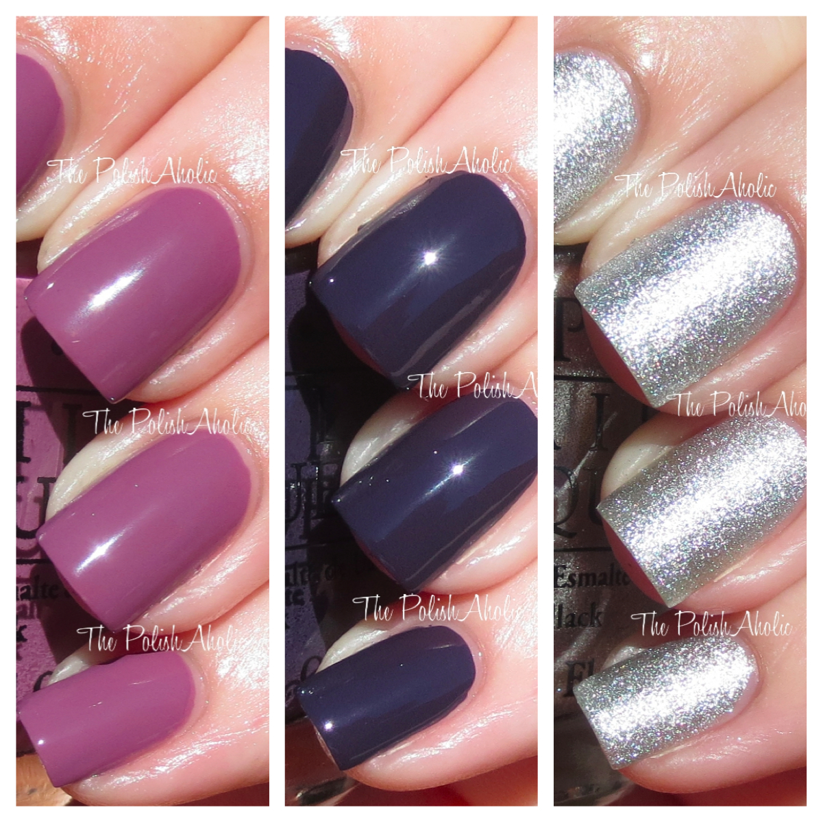The PolishAholic: OPI Miss Universe 2013 Collection Swatches