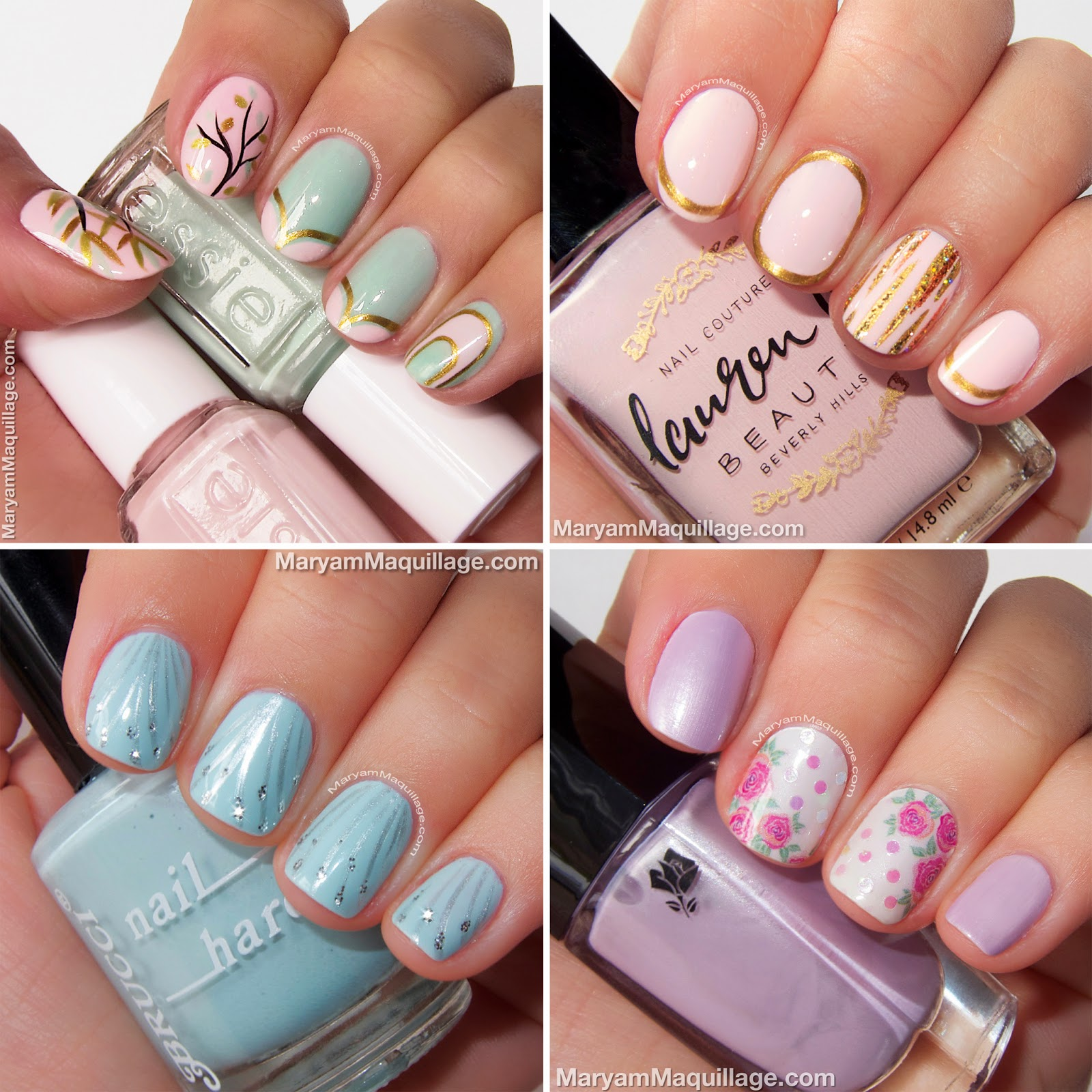 Maryam Maquillage: Spring Beauty Trend: Pastel NailArt