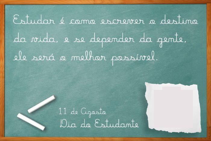 Sugestões Para O Dia Do Estudante Ensinando Com Carinho