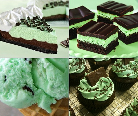 chocolate mint desserts