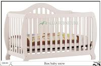 Tempat tidur balita box baby snow