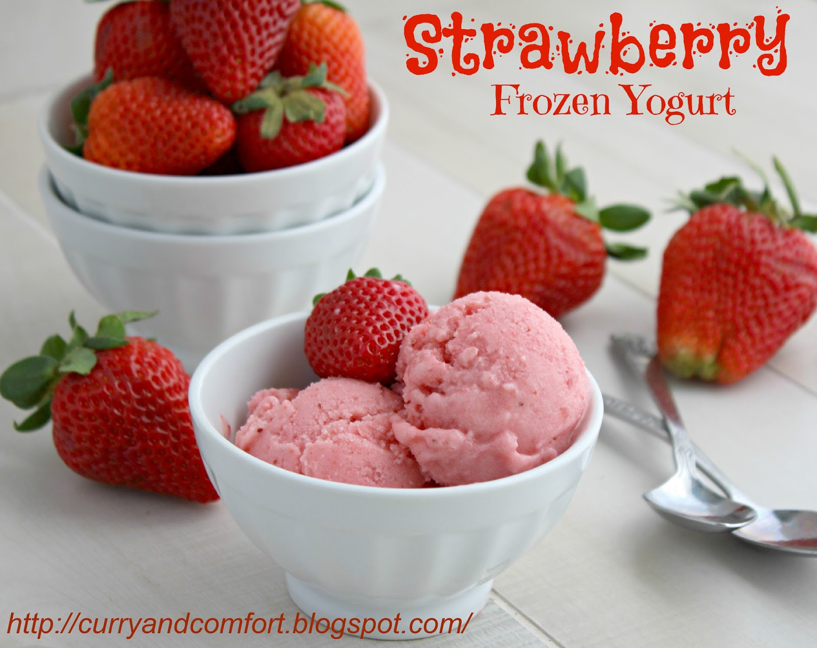 Strawberry Frozen Yogurt ~ TacoBellCantinaSteak