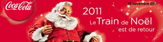 Coca-Cola : le Train de Noël est de retour