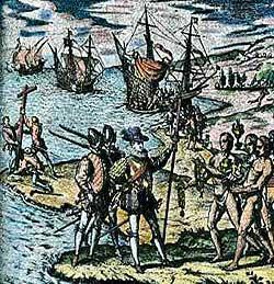 Los conquistadores españoles de America