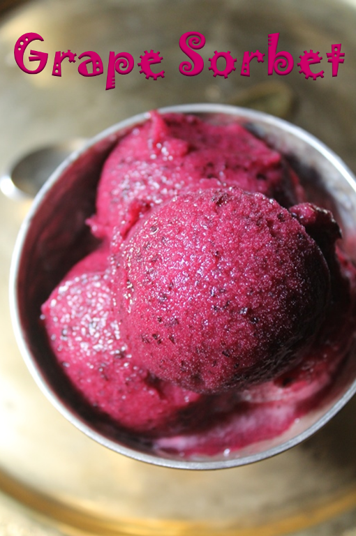 Grape Sorbet Recipe - Recipe collection