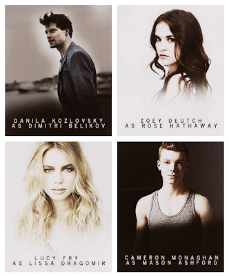 OMG! Sh*t just got real! ¡El cast completo de Vampire Academy: Blood Sisters!