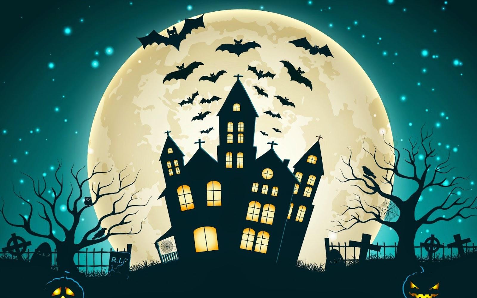 Happy halloween 2014 beautiful wallpapers collection 2014 - Funny happy halloween wallpaper ...