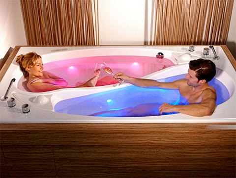 Trautwein Romantic Yin Yang Bathtub