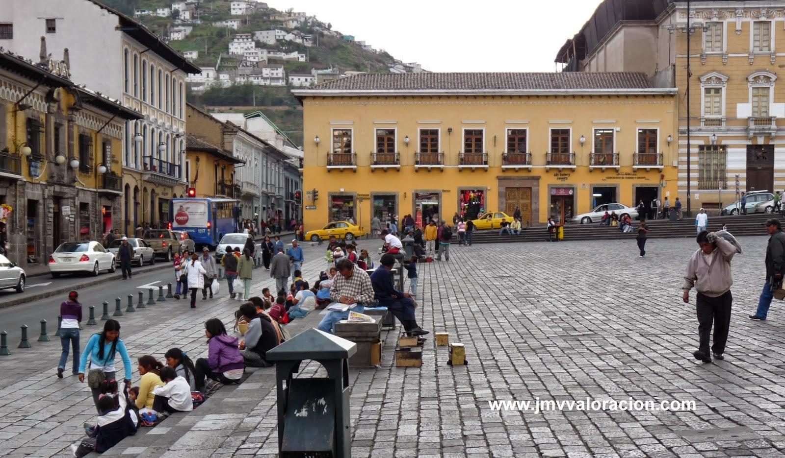 Viajes y urbanismo 1 quito jmv valoraciones inmobiliarias for Ciudad jardin quito 2015