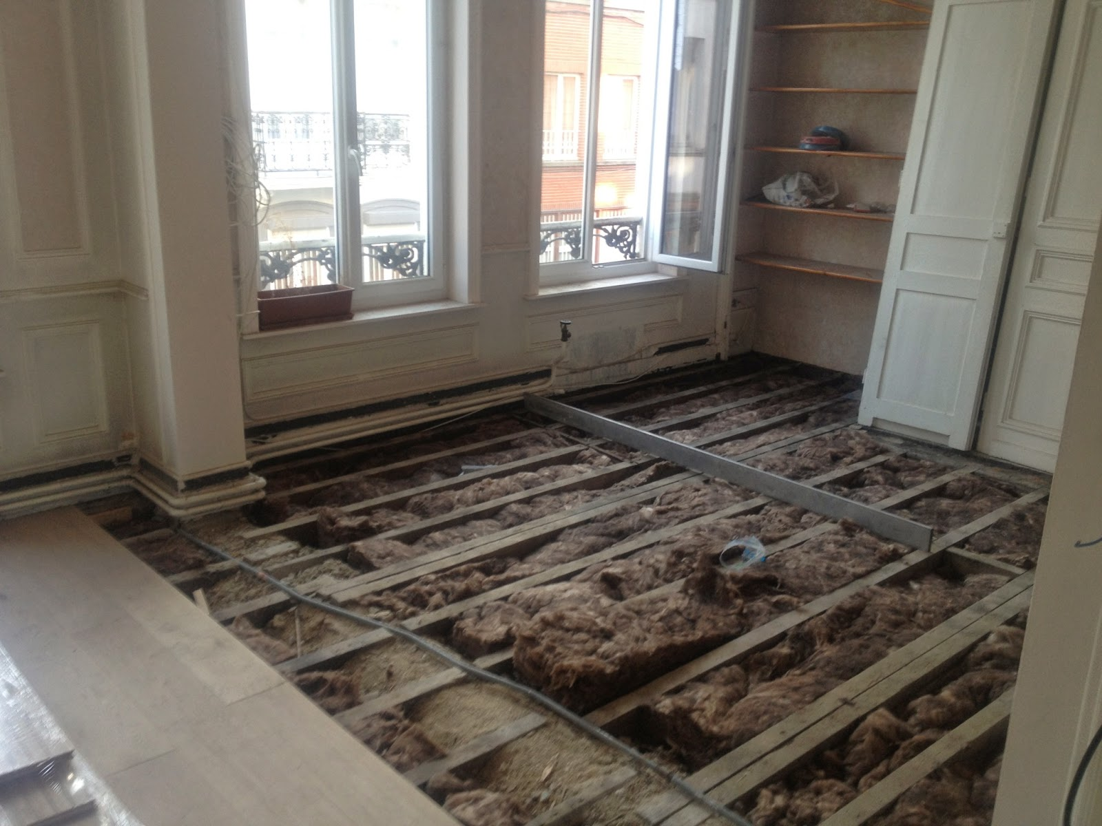Jacques lenain architecte lille r novation d 39 une ancienne - Renovation parquet ancien ...