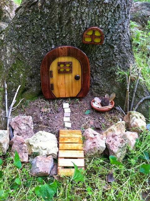 Camino a la autosuficiencia jardin de hadas puertas for Idea behind fairy doors