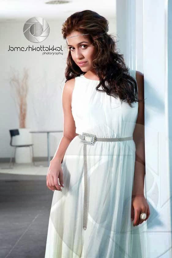 actress ranjini haridas latest cute hot white dress