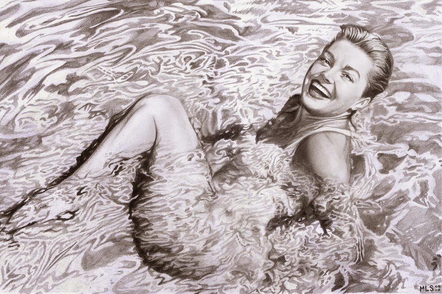 15-Esther-Williams-Martin-Lynch-Smith-MLS-art-Celebrity-Drawings-www-designstack-co