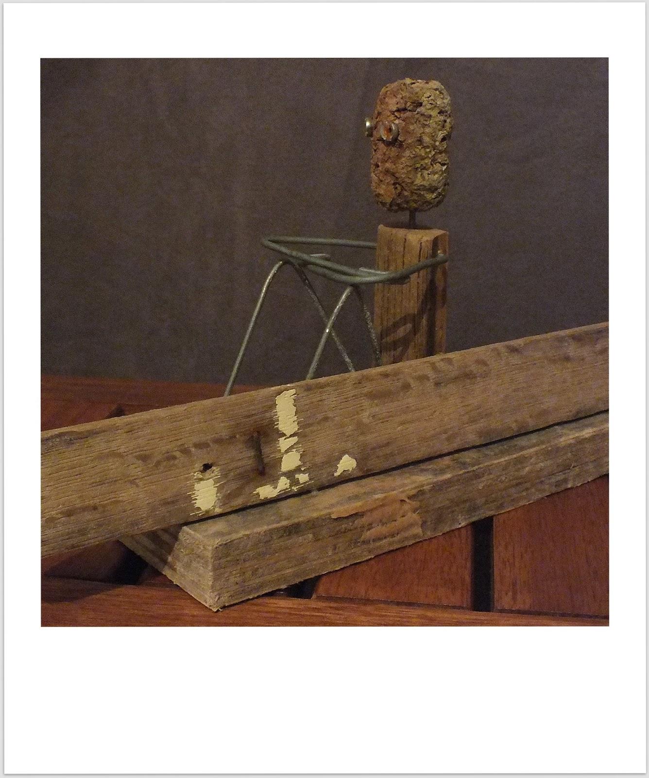 hossegor 1989 statuette de surfeur en bois flott mutoz inc art en bois flott. Black Bedroom Furniture Sets. Home Design Ideas
