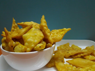 Diamond Crackers - Special Namkeen Shankarpali Diwali Recipe