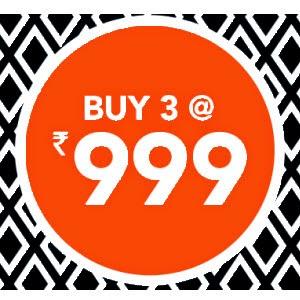 Jabong: Buy Any 3 Products at Rs.999