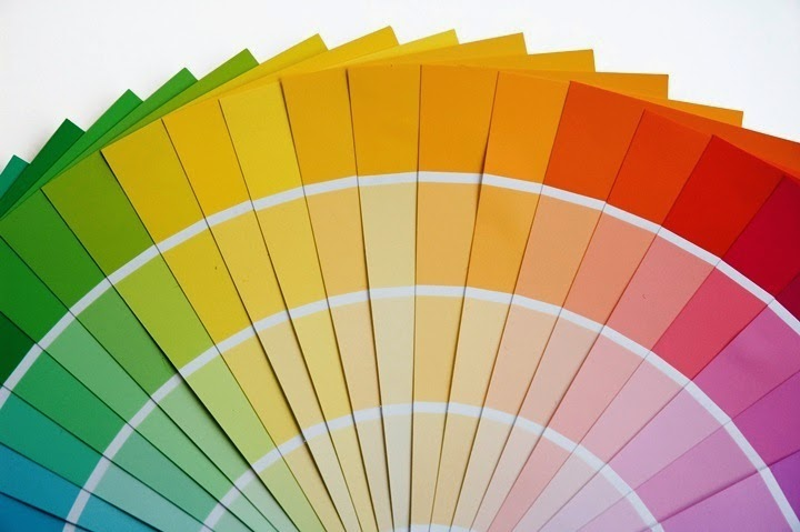 interior wall paint color swatches