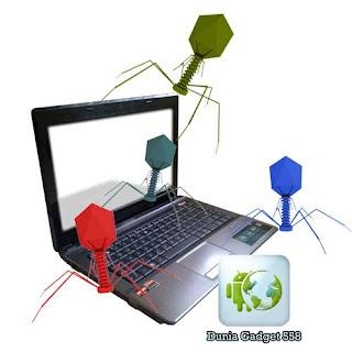 Malware menginfeksi komputer