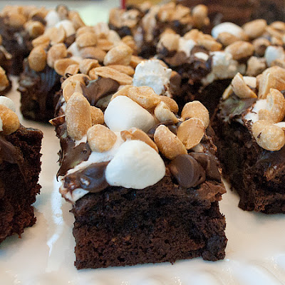 Recipe Shoebox: Rocky Road brownies
