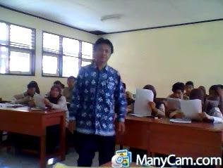 Tes di kelas XI-IPA3, Sabtu 27 Oktober 2012