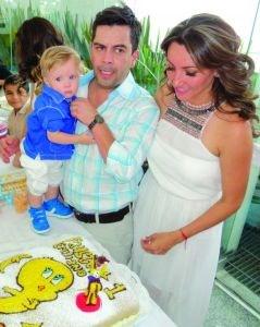 """Hijo de Carlos Espejel en """"Por siempre mi amor""""."""