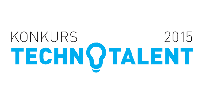 Logo konkursu Technotalent 2015