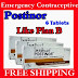 Emergency Contraceptive Postinor Levonorgestrel 0.75 mg 6 Tablets New like Plan B