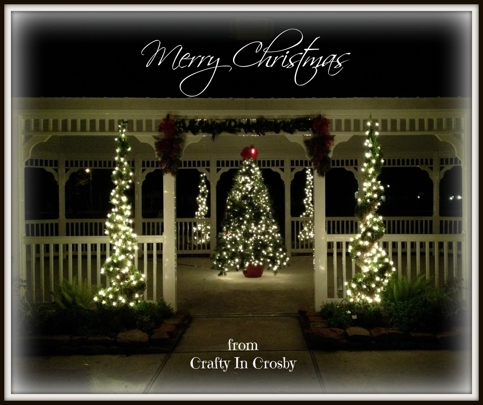 Solar christmas decorations - Gazebo Lights Viewing Gallery