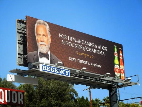 Dos Equis charisma billboard
